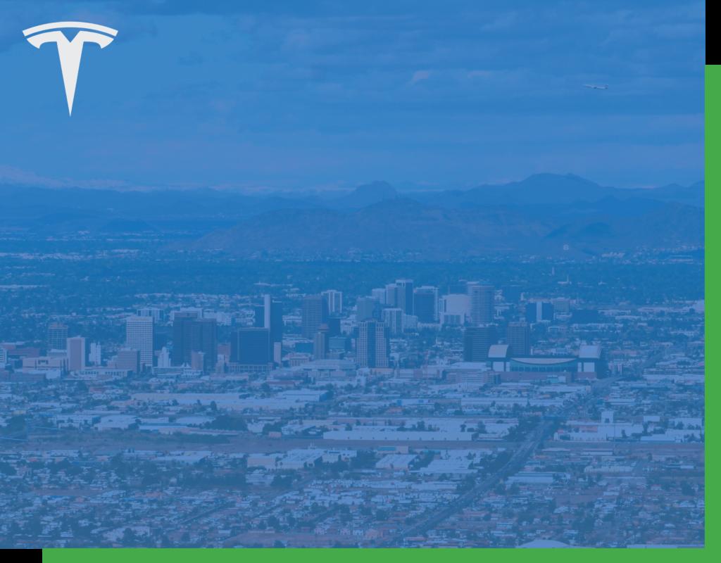 Phoenix AZ Tesla Service Center
