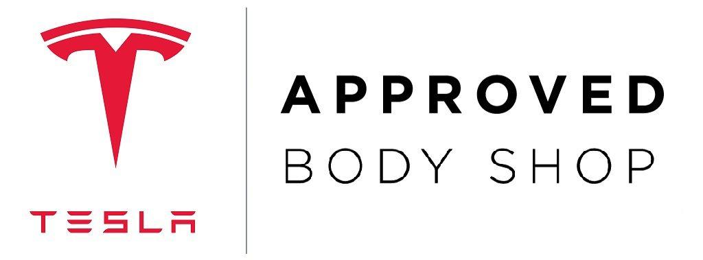 auto body shop tempe az tesla approved badge